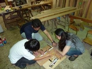 親子木工教室2017_11