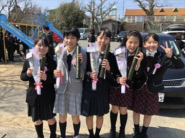 符津小学校卒業式2020_4